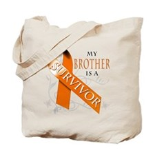 My Brother is a Survivor Tote Bag