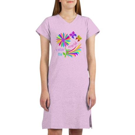 Color the World Women's Nightshirt