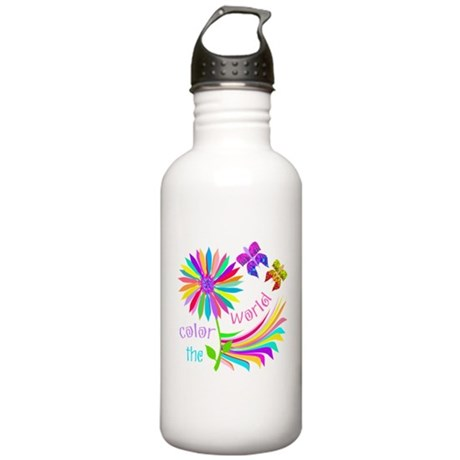 Color the World Stainless Water Bottle 1.0L