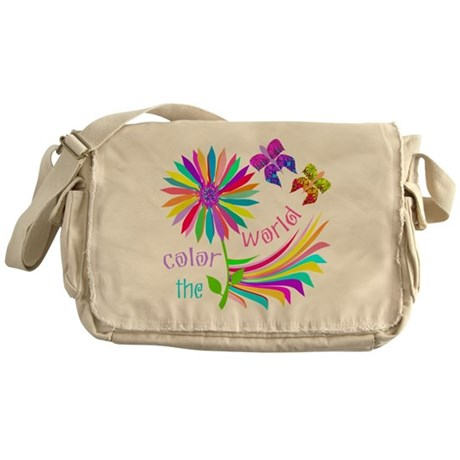 Color the World Messenger Bag