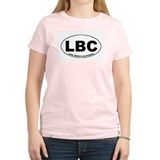 LBC (Long Beach, CA) Women's Pink T-Shirt