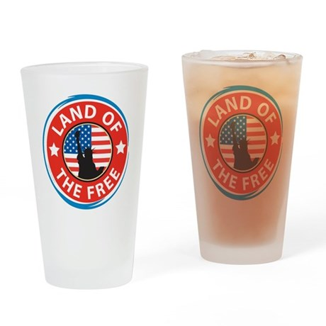 4th of july glass