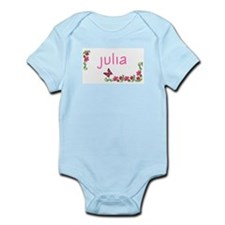 Butterfly & Flowers Julia Infant Creeper