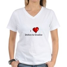 Love Debits Credits Shirt