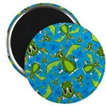 "Mystical Dragon Patterned 2.25"" Magnet (10 pa"