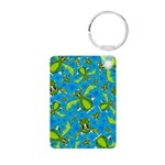 Mystical Dragon Patterned Aluminum Photo Keychain