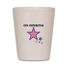 CPA Superstar Shot Glass