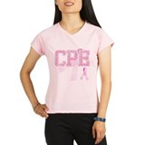 CPE initials, Pink Ribbon, Performance Dry T-Shirt