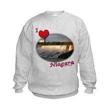 I Love Niagara Sweatshirt