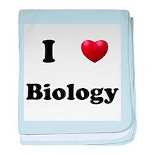 Biology baby blanket