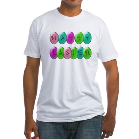 Happy Easter Fitted T-Shirt