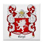 Gryf Coat of Arms Tile Coaster