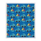 Cars and Boats Kids Toys Throw Blanket