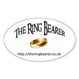 Oval Sticker with Ring Bearer Logo