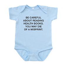 Careful Reading Health Books Infant Bodysuit