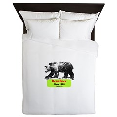 AFTM Bear Beer 1 Queen Duvet