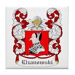 Elzanowski Coat of Arms Tile Coaster