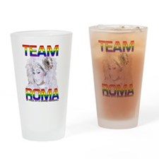 Team Roma! Drinking Glass
