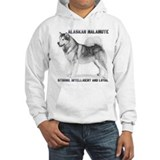 """Malamute Strength"" Jumper Hoody"