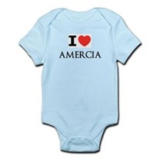 Cute I heart mitt romney Infant Bodysuit