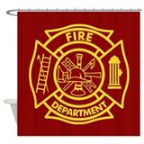 Firefighter Shower Curtains
