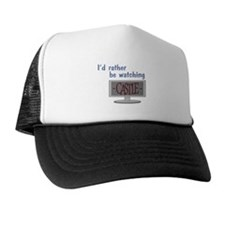 Rather Be Watching Castle Trucker Hat