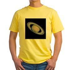 Yellow Saturn T-Shirt