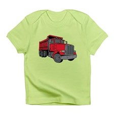 Big Red Dump Truck Infant T-Shirt