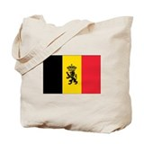 Belgium Government Ensign Tote Bag