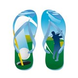 Hole in One Golf Flip Flops