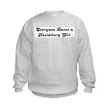 Healdsburg girl Sweatshirt