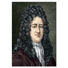 Gottfried Leibniz, German mathematician