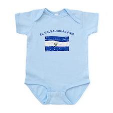 El Salvadorian Pride Infant Bodysuit