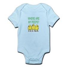 Where Are My Peeps? Infant Bodysuit