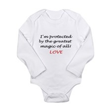 Cute Hogwart Long Sleeve Infant Bodysuit