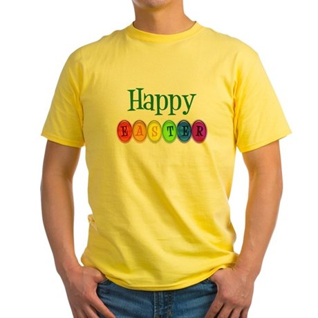 Happy Easter #2 Yellow T-Shirt
