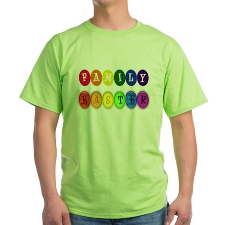 Family Easter Green T-Shirt