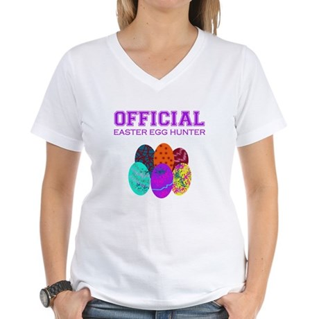 got eggs? Women's V-Neck T-Shirt