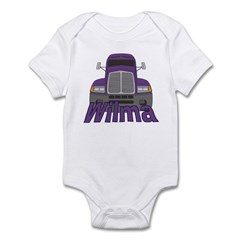 Trucker Wilma Infant Bodysuit
