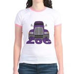Trucker Zoe Jr. Ringer T-Shirt