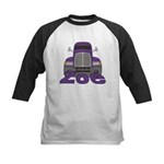 Trucker Zoe Kids Baseball Jersey