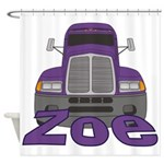 Trucker Zoe Shower Curtain