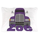 Trucker Zoe Pillow Case