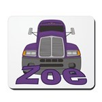 Trucker Zoe Mousepad