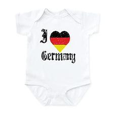 I Love Germany Infant Creeper