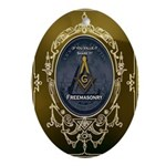 Fremasonry Share It Ornament (Oval)