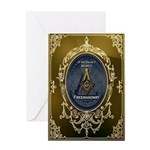 Fremasonry Share It Greeting Card