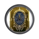 Fremasonry Share It Wall Clock