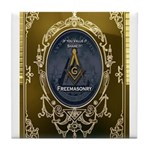 Fremasonry Share It Tile Coaster