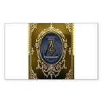 Fremasonry Share It Sticker (Rectangle 10 pk)